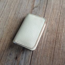 카드지갑 Card Purse with Multi Pocket [Creamy White]