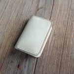 카드지갑 Card Purse with Multi Pocket [Creamy White]