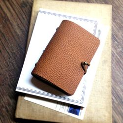 Card Purse Simple Multi Pocket [Ginger Brown]