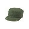 VINTAGE SOLID FATIGUE CAP (OLIVE)