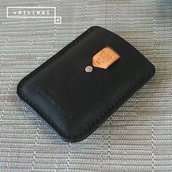 [천연소가죽] 인시그니아 카드 지갑
