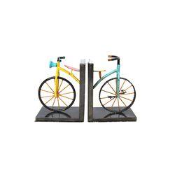 빈티지 포인트 자전거 북앤드 2p set