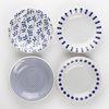로코 일본산 블루포인트 접시4P