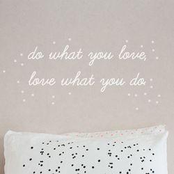 do what you love 데코스티커 (60cm)