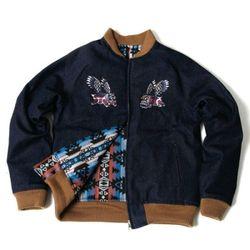 Bird of Prey Denim reversible Jacket