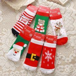 크리스마스 양말 6종세트(1-3세) 202389