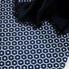 Honey comb carpet navy(100x140)