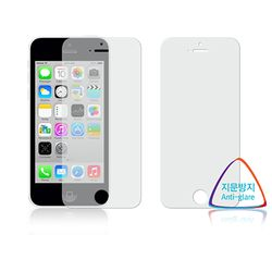애플 아이폰5C 지문방지 항균 액정보호필름 (전면2장)