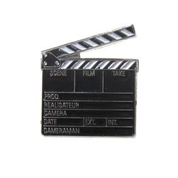 [Mybutton]Clapperboard pin