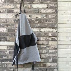 바이컬러 에이프런 : bicolor apron [3color]