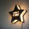 블랙 STAR [I DONT CARE] 카피라이트