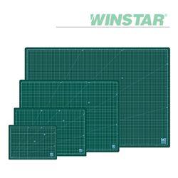 윈스타 PVC 녹색 데스크 커팅 매트 A3 450X300