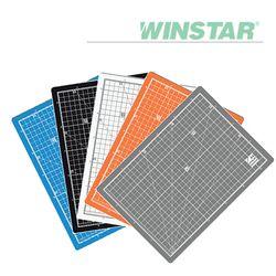 윈스타 PVC 칼라 데스크 커팅 매트 A4 300X215