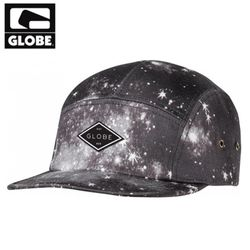 [GLOBE] COLLECT 5 PANEL CAP (VINTAGE BLACK)