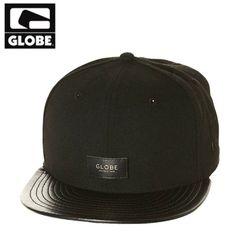[GLOBE] LIFE WELL LIVED CAP (BLACK)