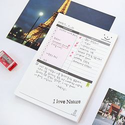 DAILY DESK NOTE PAD