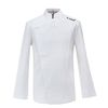 (AJ1455) slim chef jacket white