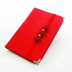 국화매듭 통장 지갑