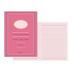 Color Paper Notebook(A5) - 라즈베리