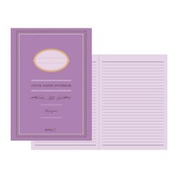 Color Paper Notebook(A5) - 카시스