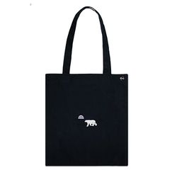 polar bear cotton bag