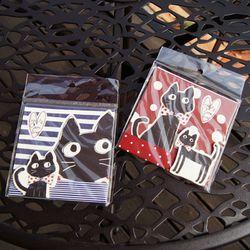 블랙 고양이 메모 스티커 2type