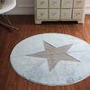북유럽 스타 입체 원형러그 (민트) 100cm