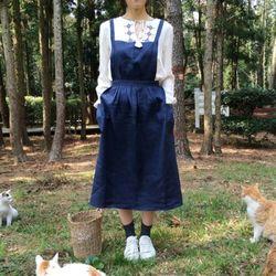 앤 에이프런 : ann apron [3color]