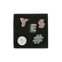 [Macon&Lesquoy] 마콩 자수브로치 SET_#YES