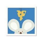 유코 라우 아이방 그림액자 Peek-a-Boo V Mouse
