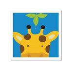 유코 라우 아이방 그림액자 Peek-a-Boo Giraffe