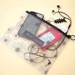 투명 멀티 케이스 - M 2TYPE (색상랜덤)