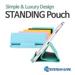 시스템게이트 스탠딩 멀티 파우치 태블릿 10인치 전용