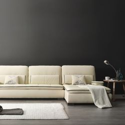 Artificial Leather HA-051A 소파 4인용 카우치