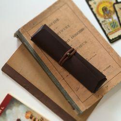 접이식 필통. Pencil CaseCross Folding [핫쵸코]