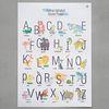 알파벳 사운드 포스터