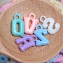 마쉬멜로 구슬 - 알파벳(20g)