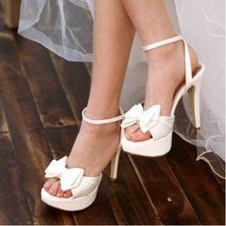 웨딩슈즈스트랩샌들 Wedding Sandal 12cm No.1054