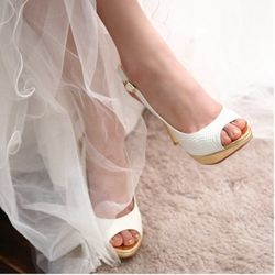 웨딩샌달 Wedding Sandal 12cm No.1200