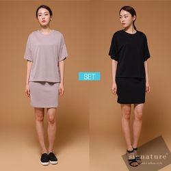 [SET]Dress+Top