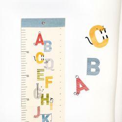 코니테일 키재기 포스터 - 알파벳(키재기자)