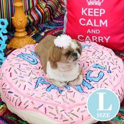 미스터 펫 애완동물방석 Do 2 도넛패닉 핑크방석- L