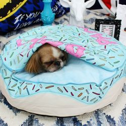 미스터 펫 애완동물방석 Do 2 도넛패닉 핑크방석- XL