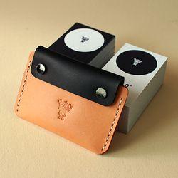 [천연소가죽] 아트리아 명함카드 지갑