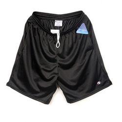 Champion USA Long Mesh Shorts black
