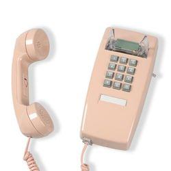 [코텔코] 오리지널 빈티지 벽걸이유선전화기 연핑크