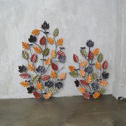 나뭇잎 촛대 벽장식 2type - 5구