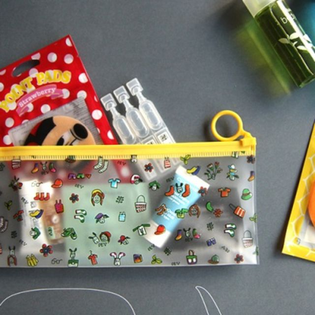 Valerie Clear Pouch S size