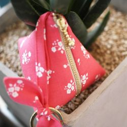 (DIY) 리본 삼각 파우치 ribbon tringular pouch
