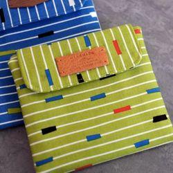 (DIY)시크릿 폴딩 파우치 그린 secret folding pouch
